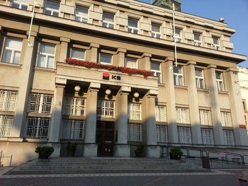Komerční banka náměstí Republiky Padubice